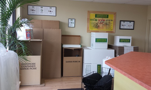 Depotium Mini-Entrepôt - St-Jérôme located at 5 Rue John F. Kennedy has the storage solutions you need. Call to reserve today!