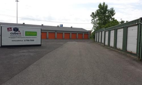 Depotium Mini-Entrepôt – Saint-Jérôme, située au 5, rue John F. Kennedy, a la solution d'entreposage qu'il vous faut. Réservez dès aujourd'hui!